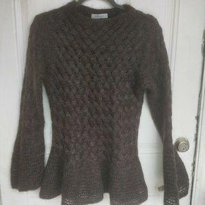 Rene Lezard Mohair Blend Sweater